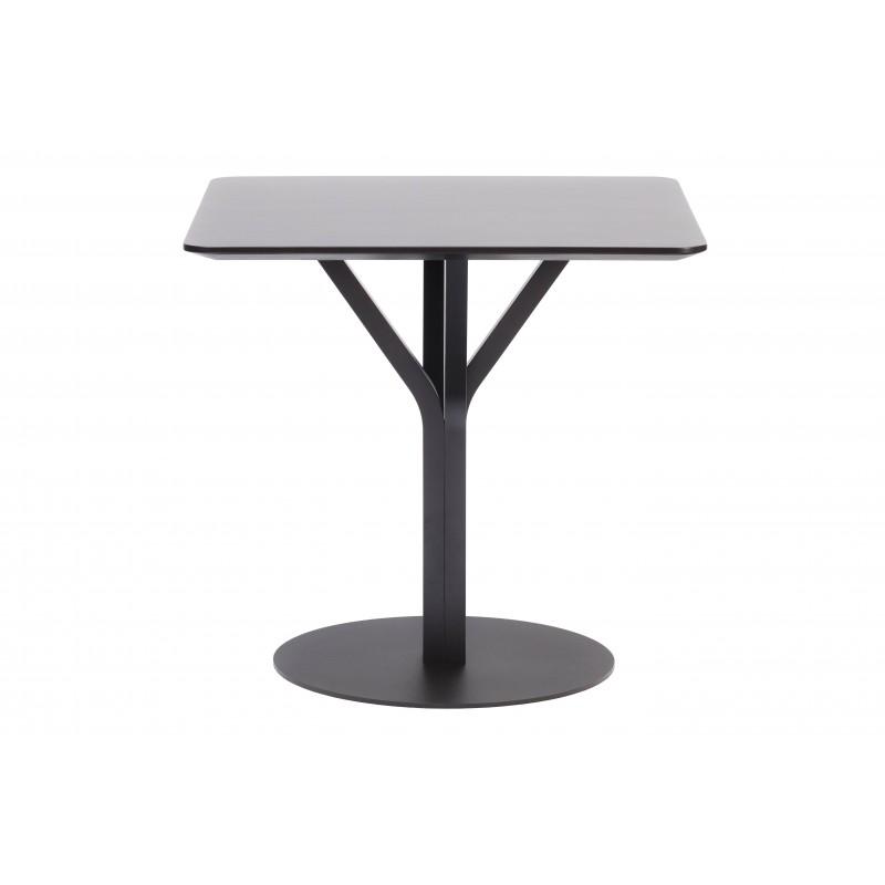 Table Carrée - BLOOM - Hêtre Noir - Livraison Offerte