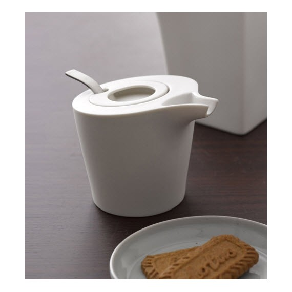 Sucrier - ARCHI - Blanc - Livraison Offerte