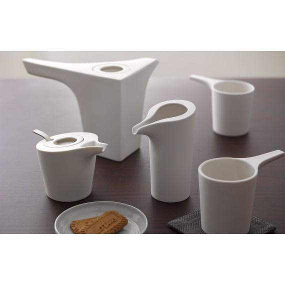 Service à thé - ARCHI - Blanc