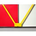 Panneau d'affichage aimanté - Grand Quadrillage - BILLBOARD -