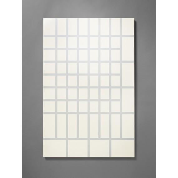 Panneau d'affichage aimanté - Grand Quadrillage - BILLBOARD - Blanc