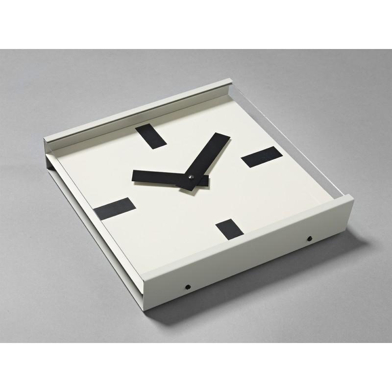 Horloge - 24 HOURS - Blanche - Livraison Offerte
