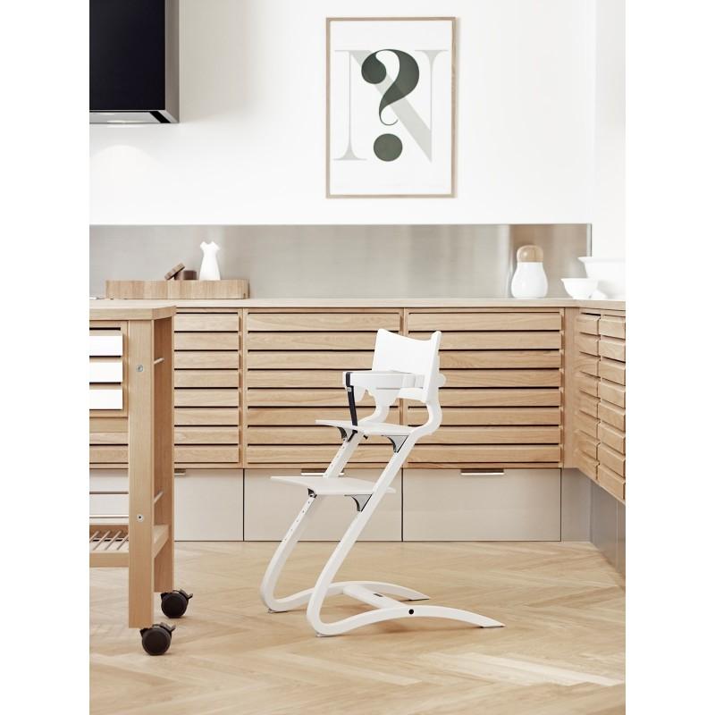 chaise haute leander h tre blanc chaises. Black Bedroom Furniture Sets. Home Design Ideas