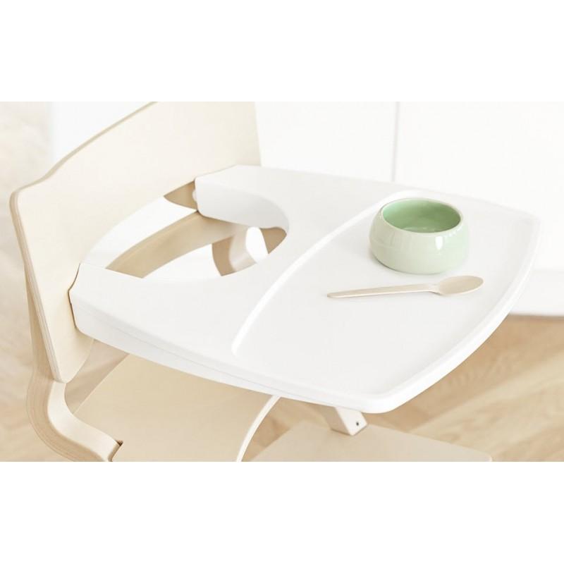 Tablette pour chaise haute leander blanche - Chaise haute combelle blanche ...