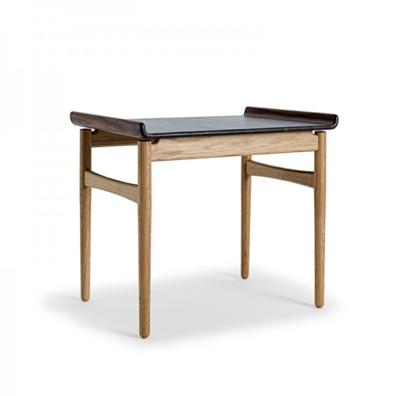 Table basse - VENUS - Chêne/Noyer