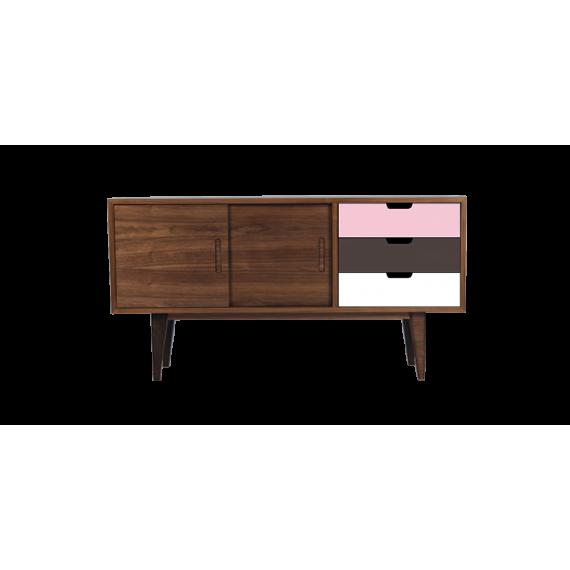 Enfilade - OSS-SMALL Pink - Noyer