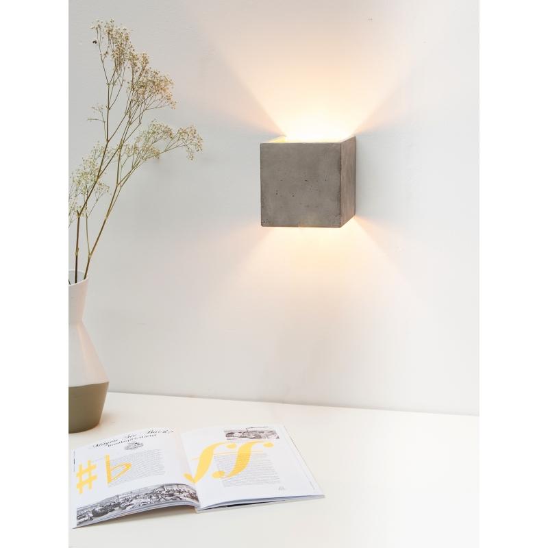 applique murale b3 b ton gris cuivre. Black Bedroom Furniture Sets. Home Design Ideas