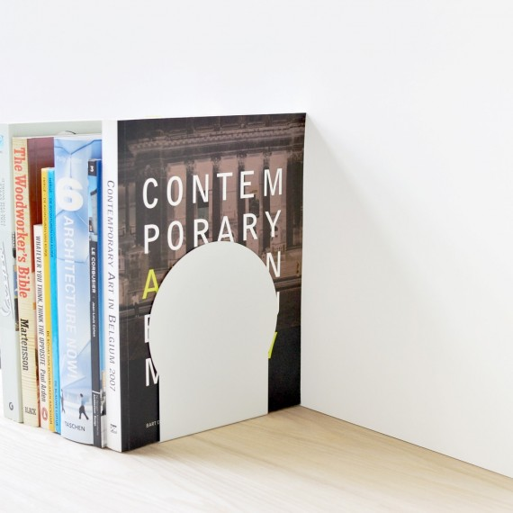 Serre-Livres Duo - Set C - ELEMENT - Blanc - Livraison Offerte