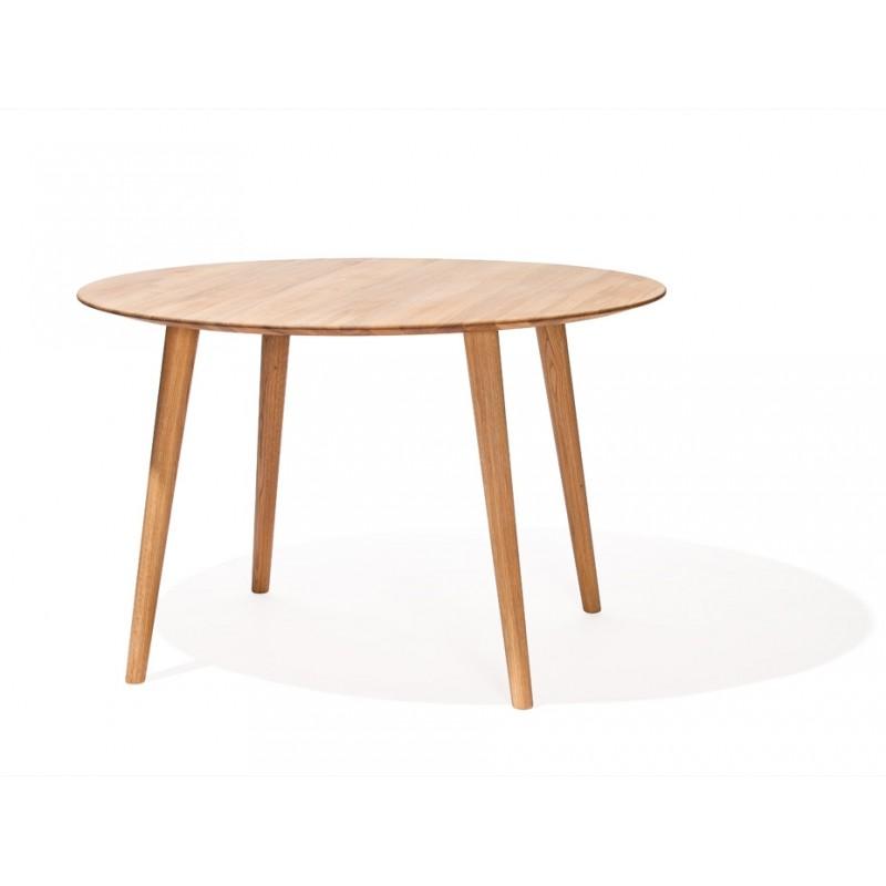 Table ronde - MALMO - Chêne - Livraison Offerte