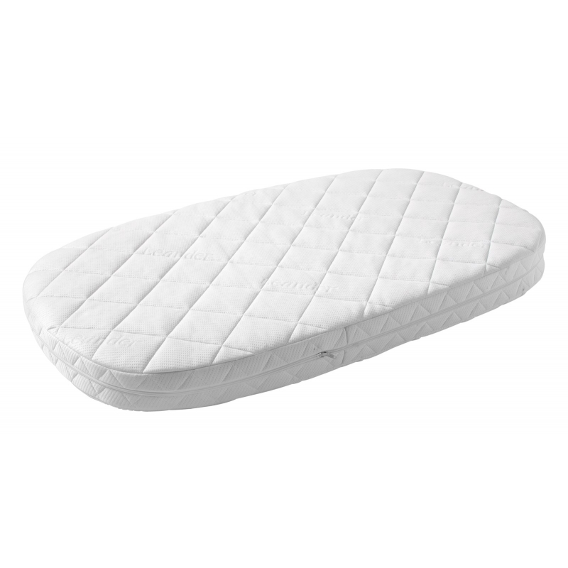 matelas pour lit b b leander blanc literie. Black Bedroom Furniture Sets. Home Design Ideas