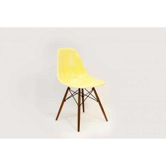 Chaise Eames DSW Herman Miller - Jaune Citron