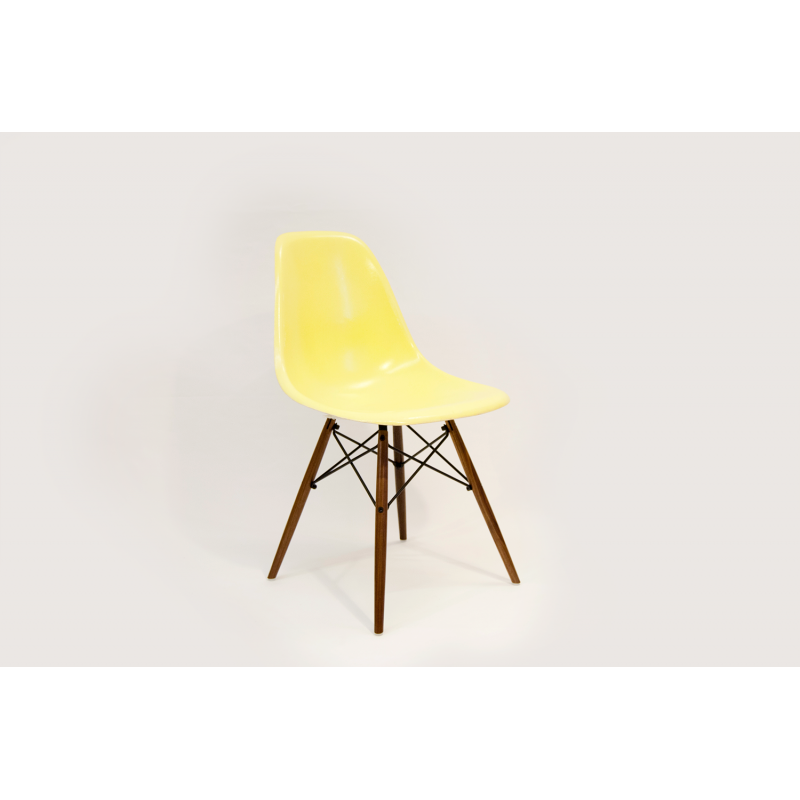 chaise eames dsw herman miller jaune citron. Black Bedroom Furniture Sets. Home Design Ideas