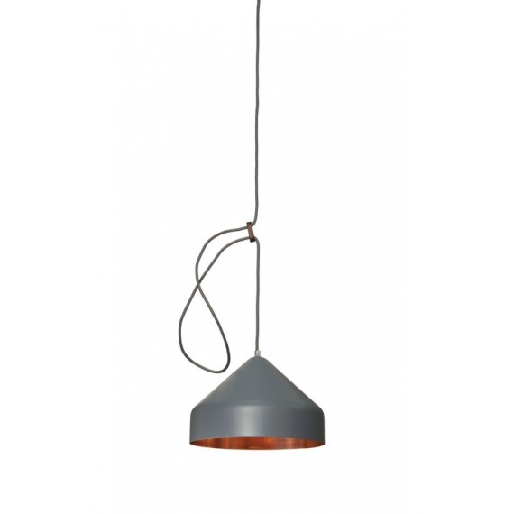 Suspension - LLOOP - Cuivre - Gris