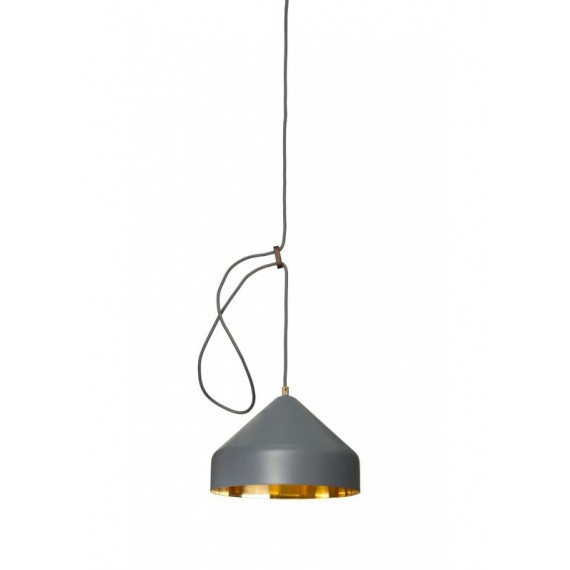 Suspension - LLOOP - Laiton - Gris
