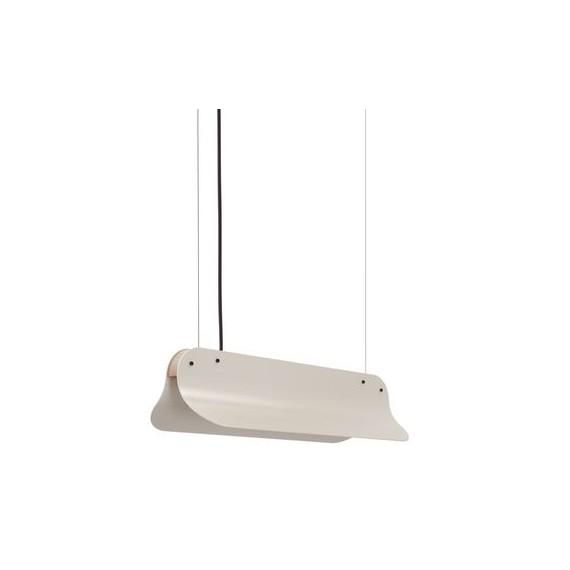 Suspension - LONG SHADE 400 - Blanc grisé