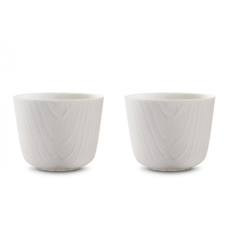 Tasse Oriental - MU - Blanche x2 - Livraison Offerte