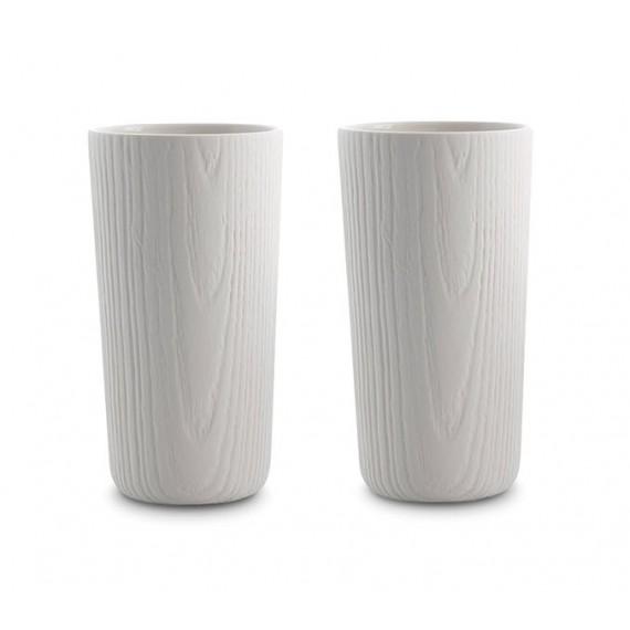 Verre - MU - Blanc x2 - Livraison Offerte