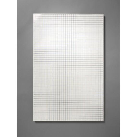 Panneau d'affichage aimanté - Petit Quadrillage - BILLBOARD - Blanc