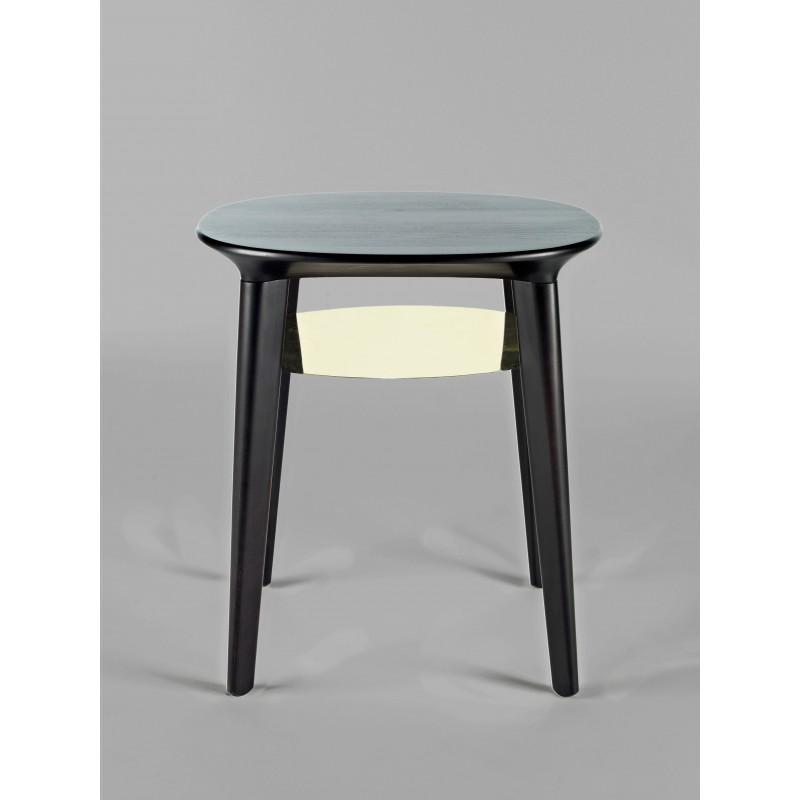 Table d'appoint - ESTHER - Bouleau Noir - Livraison Offerte