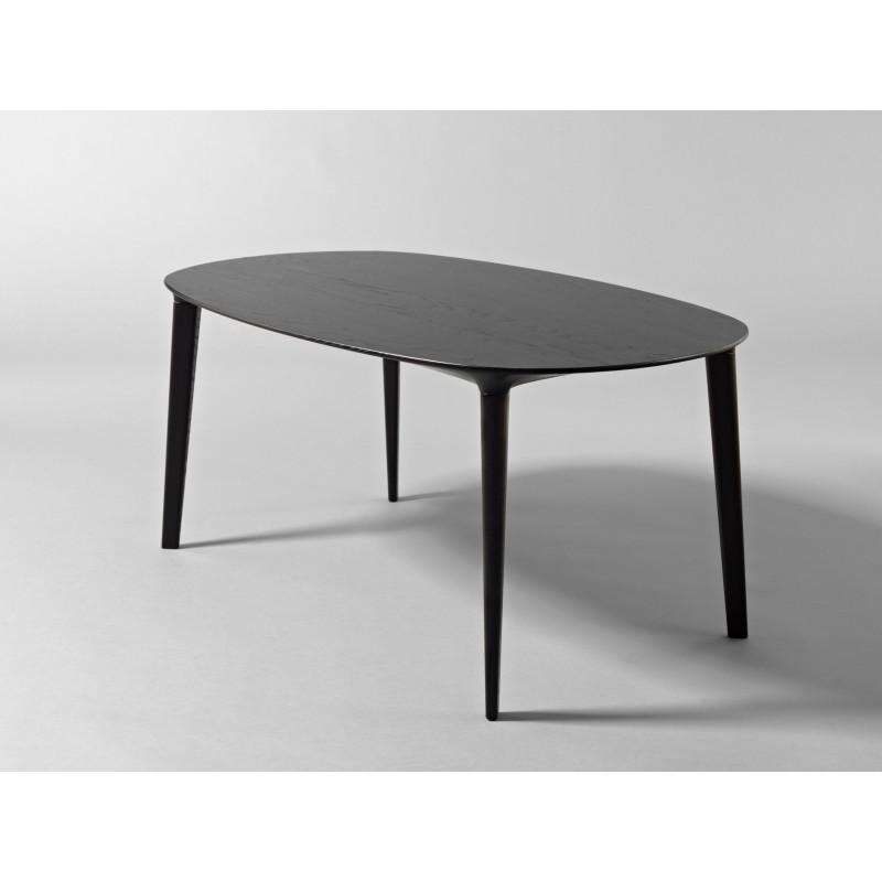 Table basse - RUTH - Chêne Noir - Livraison offerte
