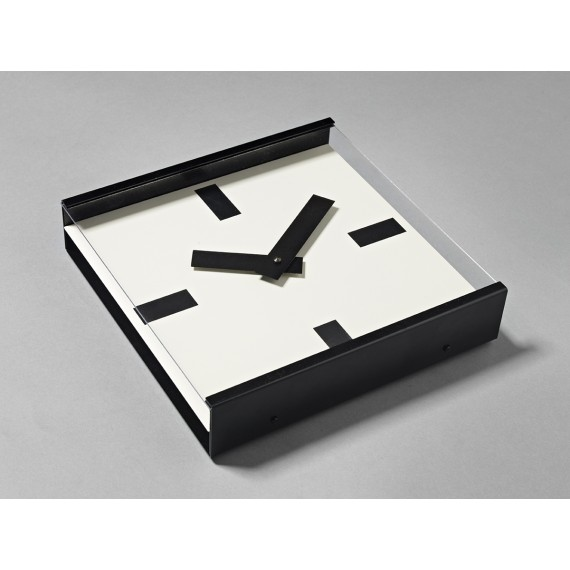 Horloge - 24 HOURS - Noire