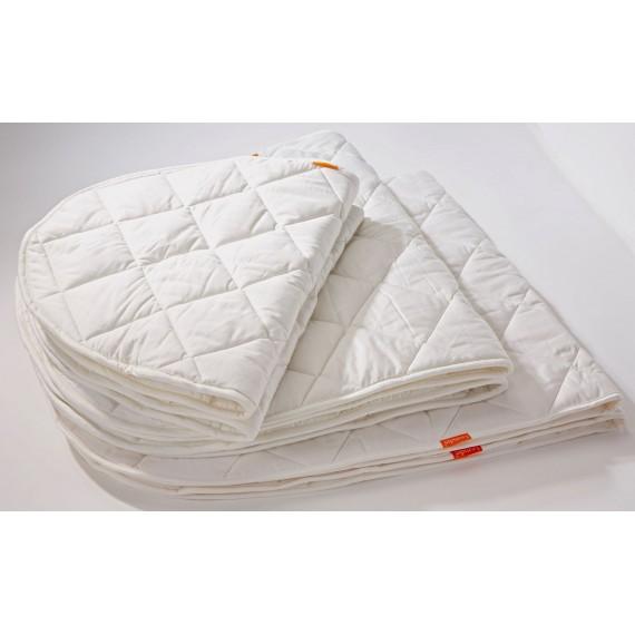 Surmatelas pour Lit Junior - LEANDER - Blanc - Livraison offerte