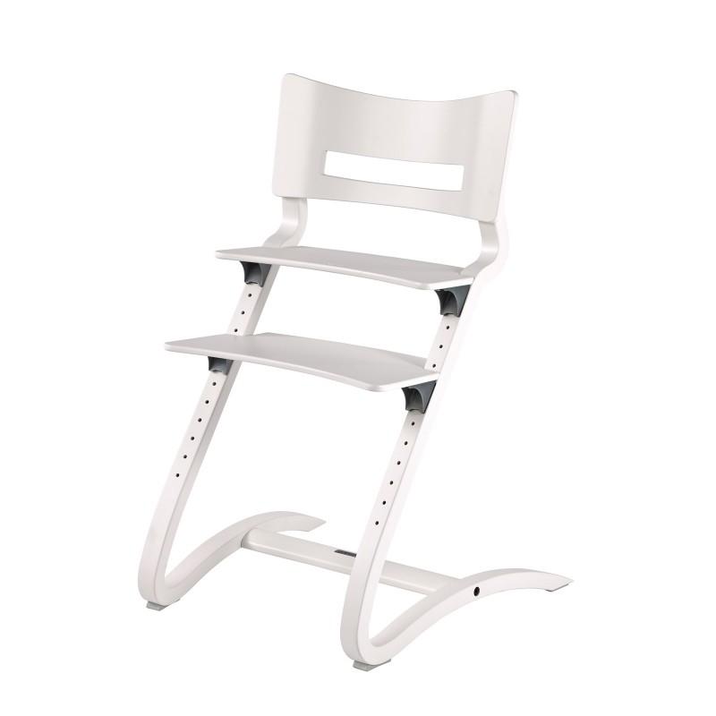 Chaise Haute - LEANDER - Hêtre Blanc - Livraison offerte