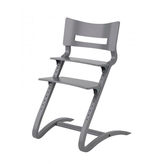 Chaise Haute - LEANDER - Hêtre Gris