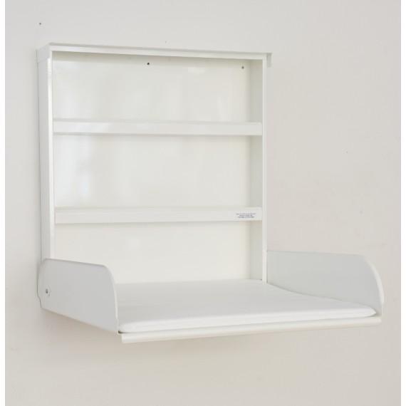 Table à Langer Murale - FIFI - Acier Blanc - Livraison Offerte