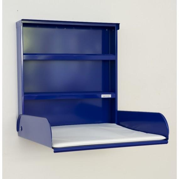 Table à Langer Murale - FIFI - Acier Bleu