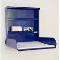 Table à Langer Murale - FIFI - Acier Bleu - Livraison Offerte