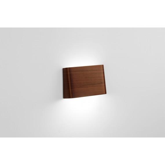 Lampe - SLICES Down - Noyer - Livraison Offerte