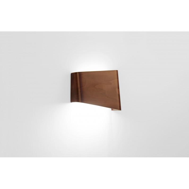 Lampe - SLICES Right - Noyer - Livraison Offerte
