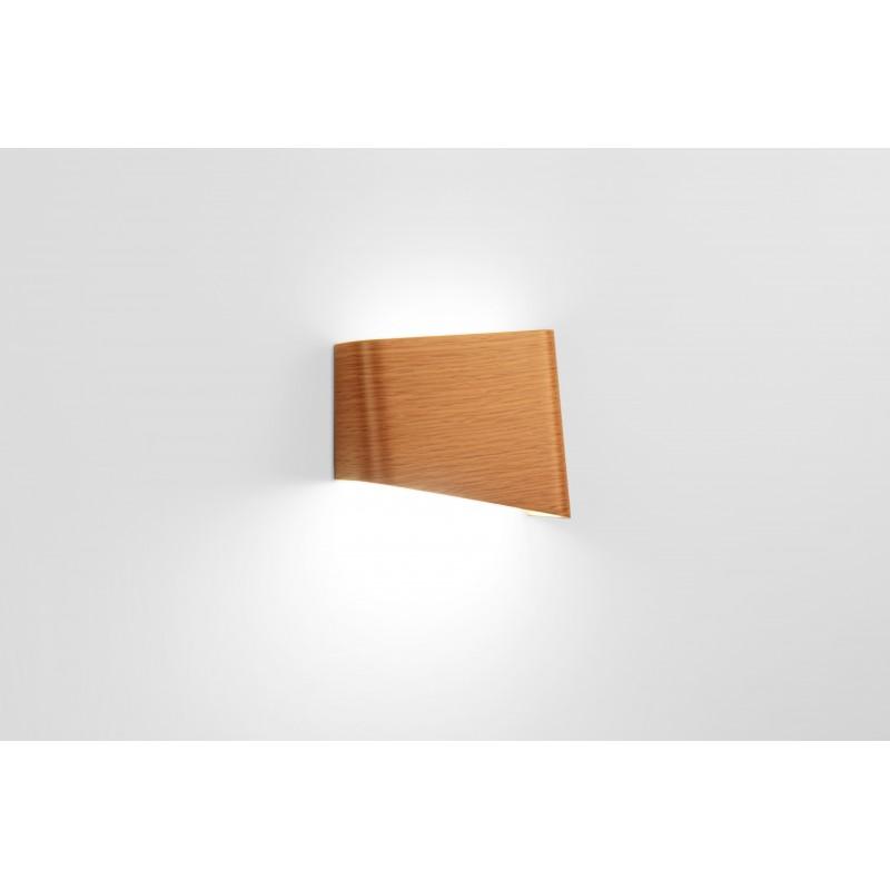Lampe - SLICES Right - Chêne - Livraison offerte