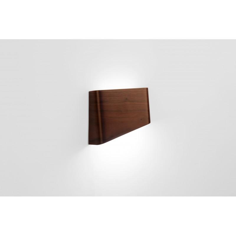 Lampe - SLICES Left - Noyer - Livraison Offerte