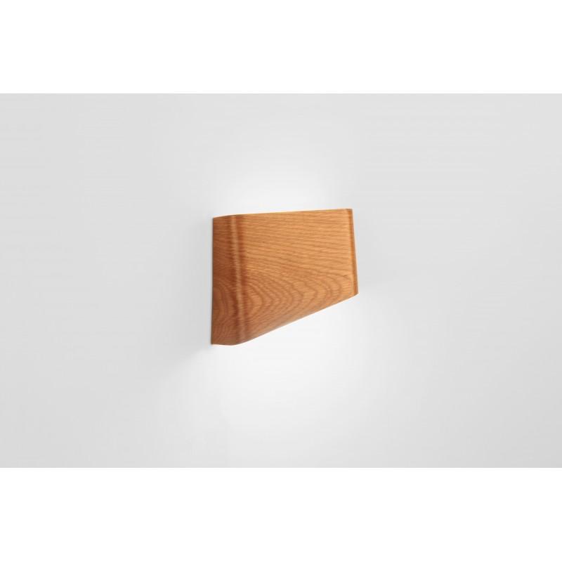 Lampe - SLICES Left - Chêne - Livraison Offerte