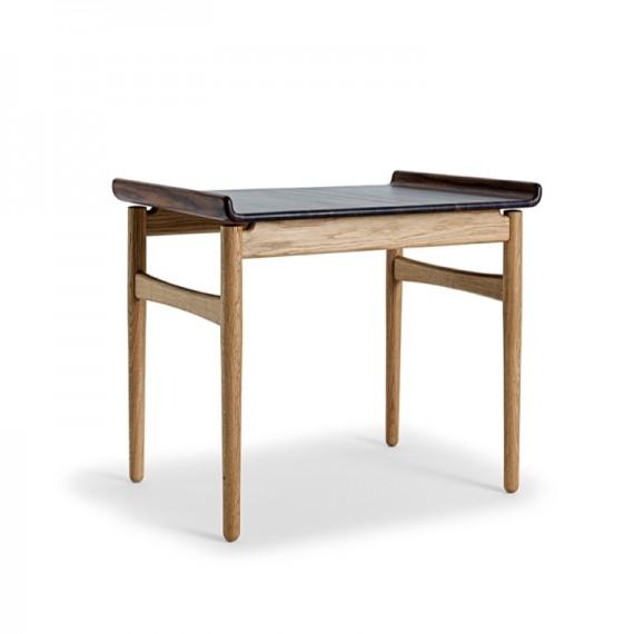 Table basse - VENUS - Chêne/Noyer - Livraison offerte