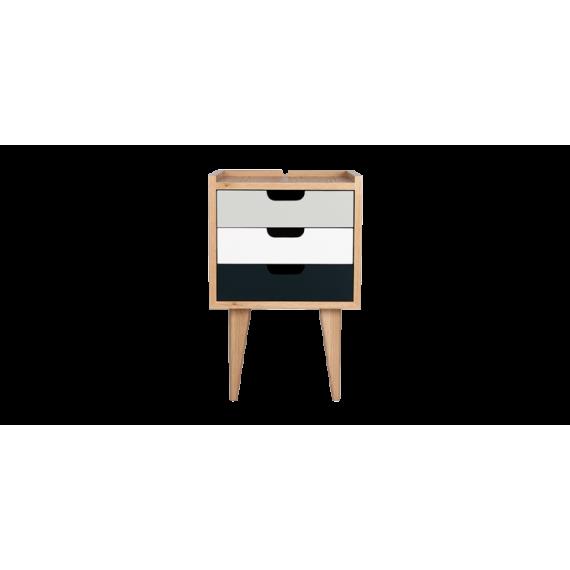 Table de chevet - OSNS Grey - Chêne