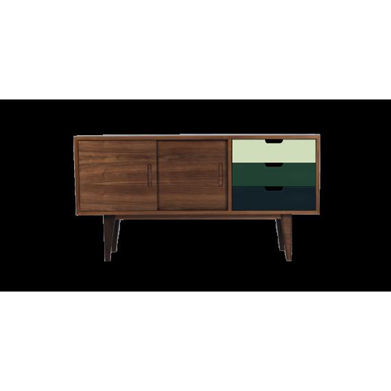 Enfilade - OSS-SMALL Green - Noyer