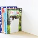 Serre-Livres Duo - Set A - ELEMENT - Blanc - Livraison Offerte