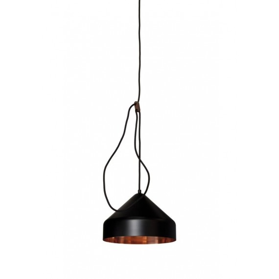 Suspension - LLOOP - Cuivre - Noir