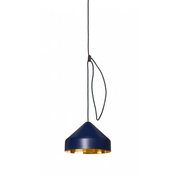 Suspension - LLOOP - Laiton - Bleu