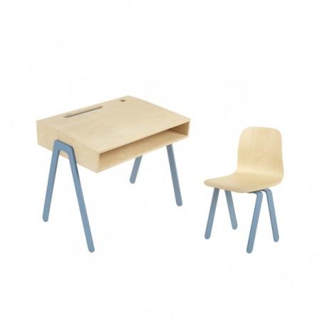 Bureau Enfant Small - IN2WOOD - Bleu