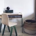 Bureau Enfant Large - IN2WOOD - Jaune - Livraison offerte
