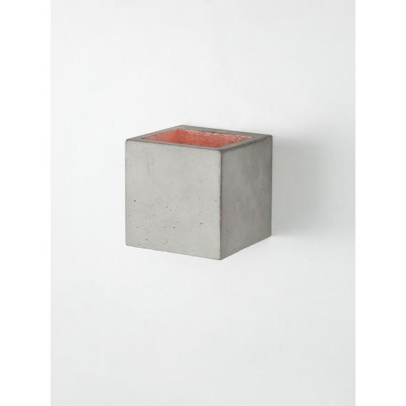 Applique Murale - B9 - Béton Gris - Cuivre