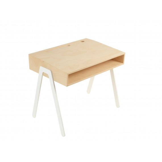 Bureau Enfant Small - IN2WOOD - Blanc