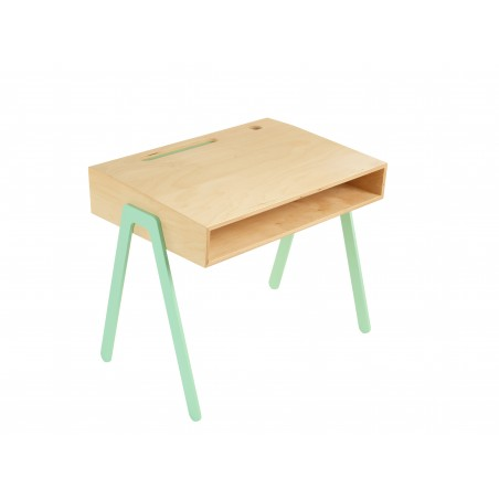 Bureau Enfant Small - IN2WOOD - Menthe