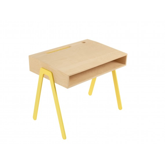 Bureau Enfant Small - IN2WOOD - Jaune