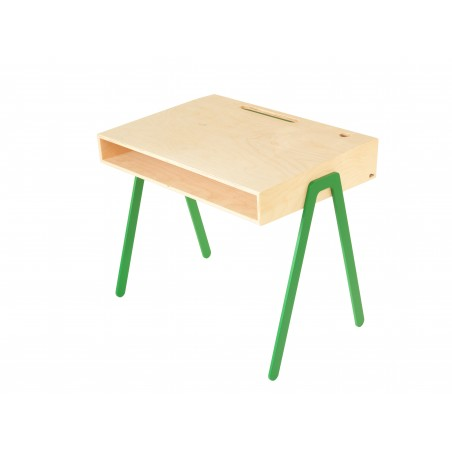 Bureau Enfant Large - IN2WOOD - Vert