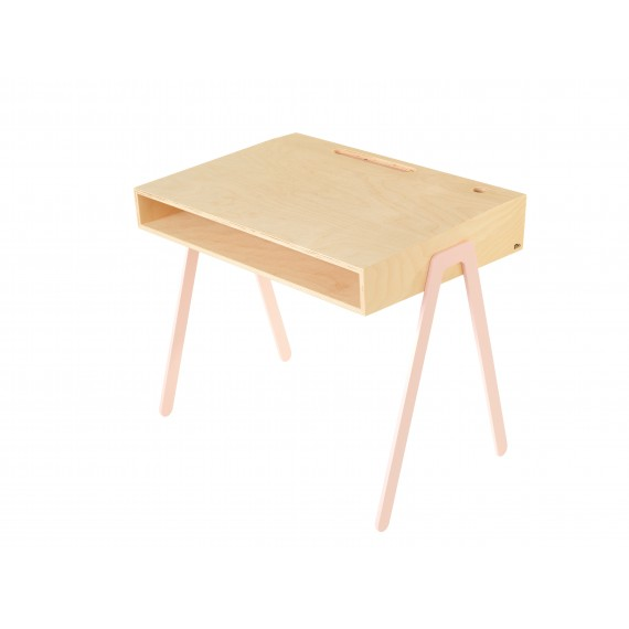Bureau Enfant Large - IN2WOOD - Rose